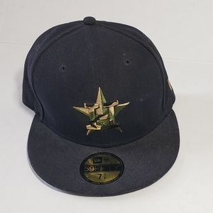 Houston Astros Fitted Baseball Hat